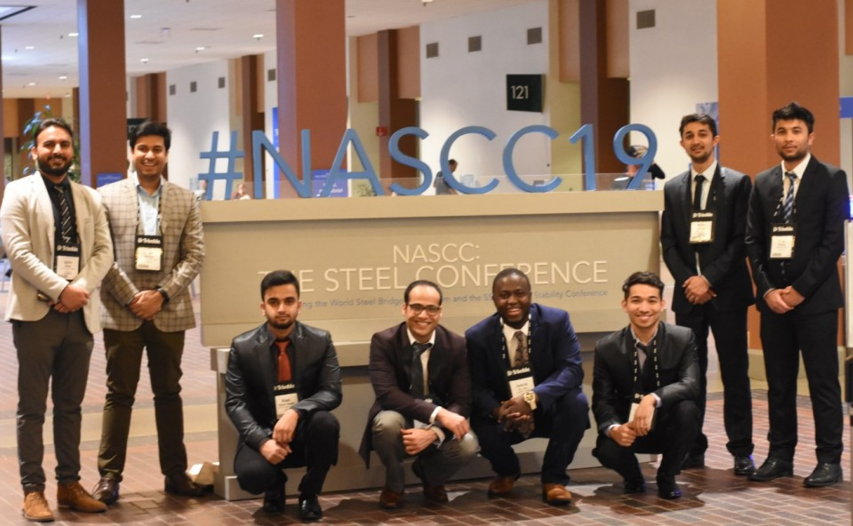 University of Toledo SEAoO students at NASCC 2019